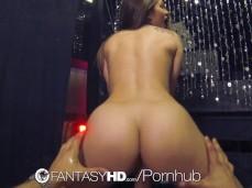 Curvy Ass Dani Rides Reverse-Cowgirl POV