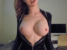 #ashley alban #big tits #strip