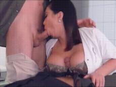 titfuck and blowjob