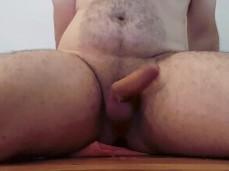 Prostate pounding cum spray